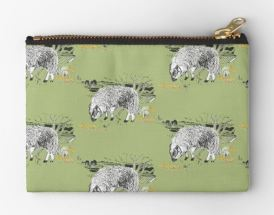 dartmoor sheep moorland green purse