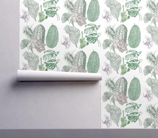 house plant wallpaper