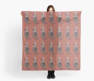 tamar hare scarf