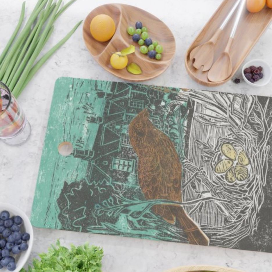 Bedford cottages cutting board