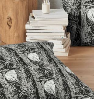 ask and embla floor pillow