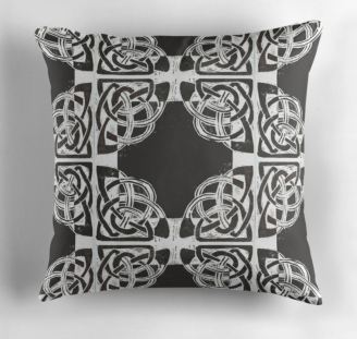 Celtic Knotwork cushion